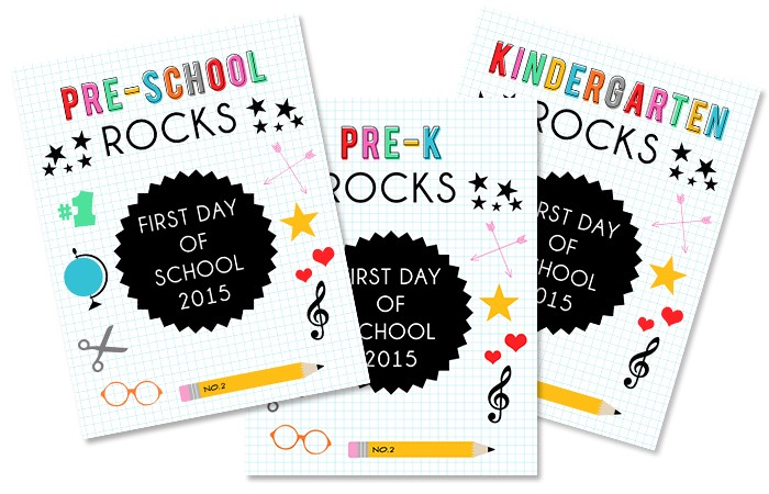 Back to School Printables 1