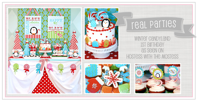 Winter Candyland Party