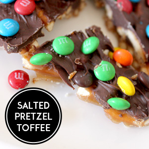 Salted Pretzel Toffee Recipe