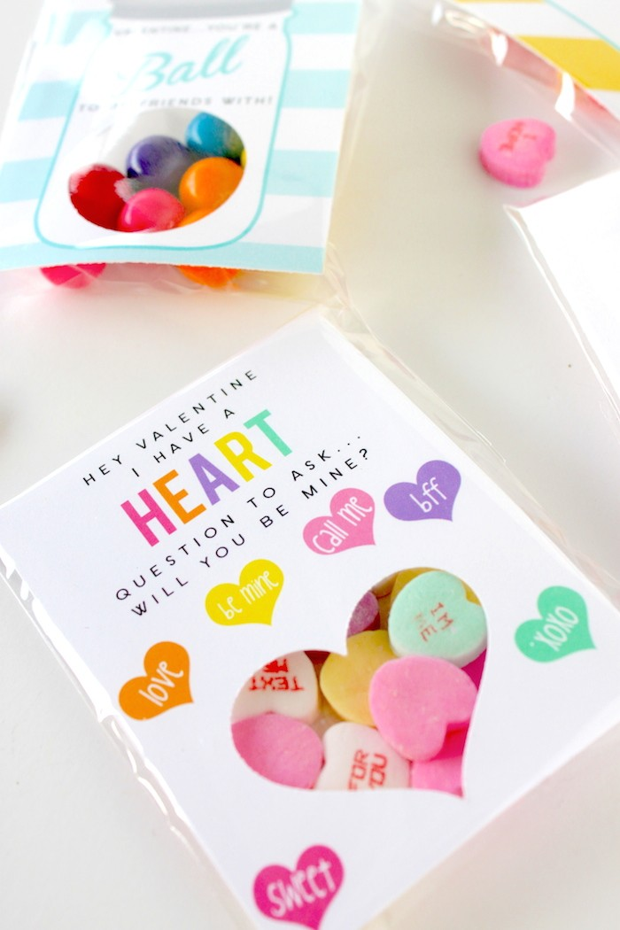 DIY Classroom Valentines by Petite Party Studio
