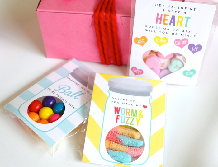 DIY Teacher Valentines by Petite Party Studio with FREE Printables