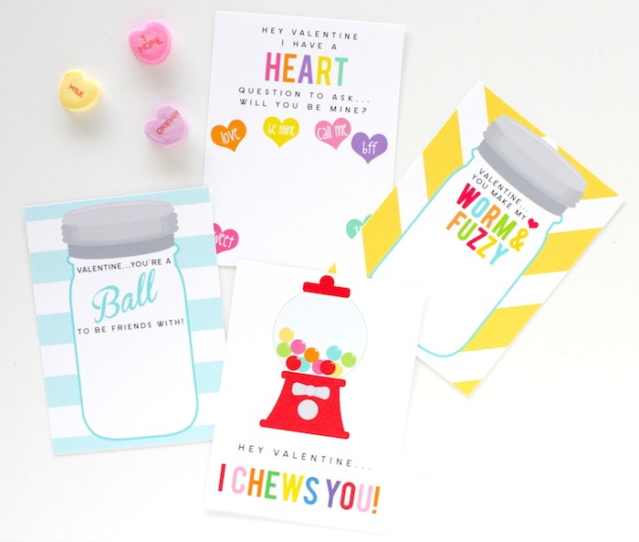 FREE Valentines Day Printables from Petite Party Studio