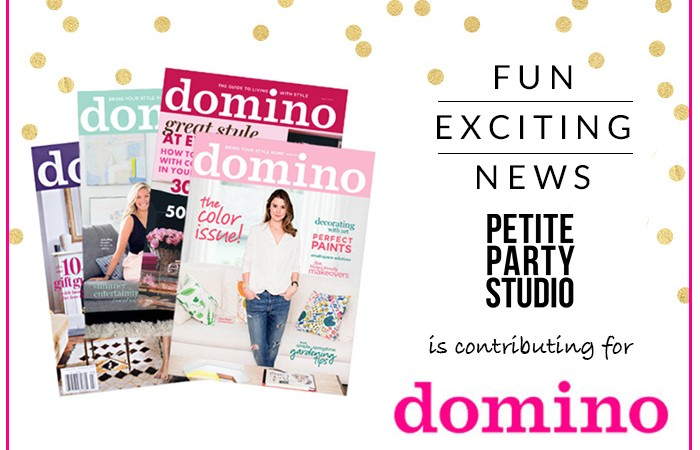 EXCITING NEWS!!  Newest Contributor for Domino.com